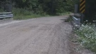 The crash happened just beyond a sharp curve, at an area locally known as Bob's Pond on Saturday, Aug. 19.