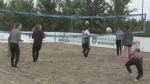 Beach V-Ball in the Bay