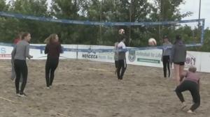 Beach V-Ball in the Bay