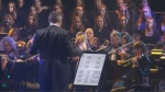 Three orchestras performed together at Montreal Symphonique -- a free mega-concert on Mount Royal.