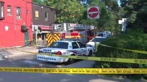 Police are investigating after a body was found near College and Bathurst streets on Sunday.
