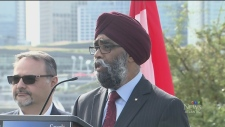 CTV Atlantic: Defence Minister urges calm for ship