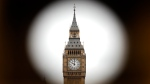 The Elizabeth Tower, home to the Great Clock and housing the bells Big Ben, is seen in London, Monday, Aug. 21, 2017. (AP Photo/Frank Augstein)