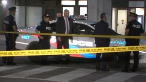 Police are investigating after a man was seriously injured in a stabbing in Toronto's downtown core early Monday morning.