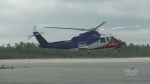 A LifeFlight helicopter is seen in this undated file photo.