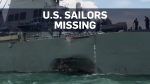 Search for U.S. sailors underway near Singapore