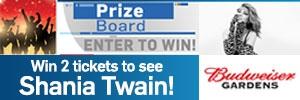 Shania Twain Prize Board
