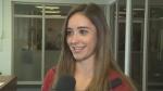 Canadian figure skating champion Kaitlyn Osmond speaks to CTV News in Regina on Monday, Aug. 21, 2017.