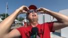solar eclipse, CNE, Toronto