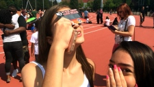solar eclipse, Toronto, York University