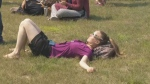 McGill University campus was full of eclipse watchers