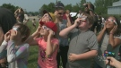 Hundreds gather at Ottawa eclipse viewing party
