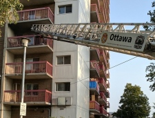 No one was hurt but one person was forced out of their home after the fire on Donald Street.