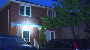 Police are investigating after shots hit an Etobicoke home and a parking enforcement officer's vehicle overnight.