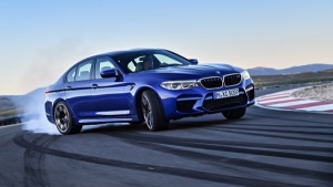 The 2018 BMW M5 (BMW Group AG)