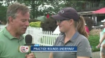 CTV's Terry Marcotte speaks with Canadian golfer A