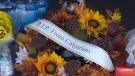 CTV Calgary: Vigil held at crash site in Hanna