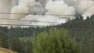 CTV News Channel: Largest fire in B.C. history