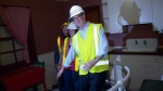 Ottawa Mayor Jim Watson navigates Crazy Kitchen.