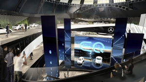 Mercedes-Benz cars at the 2017 International Motor Show (© Daimler AG)