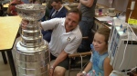 Stanley Cup comes to CHEO