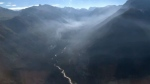 CTV Calgary takes an aerial tour of the Verdant Creek wildfire