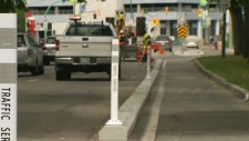 Adjustable bike lane curbs coming to Winnipeg