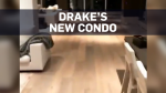 Drake shows off his new condo