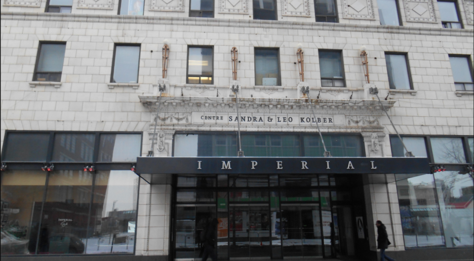 ", Quebecor may enter what's described as a ""partnership"" with Cinema Imperial and Serge Losique—the current president of the board. Quebecor will assume the theatre's debts. (Photo by Wikimedia commons)"