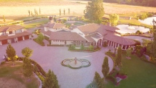 Tuscan-style Surrey villa could break sales record