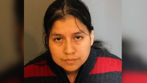 Police say Lidia Quilligana was arrested in 2015 after a hidden camera captured the abuse. (Danbury Police Department)