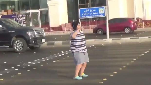 Teen arrested for doing Macarena on Saudi Arabian street