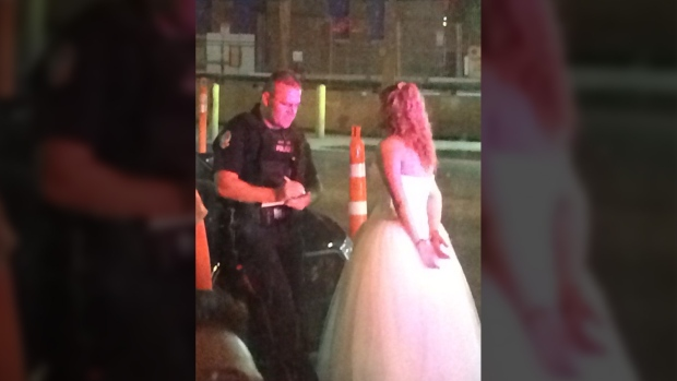 Image result for 'Absolutely absurd': Bride, groom arrested in post-wedding bar brawl