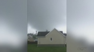 possible twister in Lachute