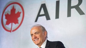 Air Canada President and CEO Calin Rovinescu attends the company's annual general meeting in Montreal, Friday, May 5, 2017. (Graham Hughes / THE CANADIAN PRESS)