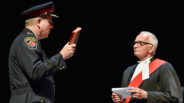 Judge Bernd Zabel (right) is seen in this undated photo. (Courtesy/Hamilton Spectator)
