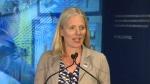 Minister McKenna speaks on jobs in Calgary
