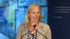 Minister McKenna speaks on jobs in Calgary