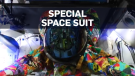 Space suit painted by children with cancer