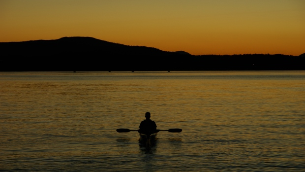kayaker pat bay