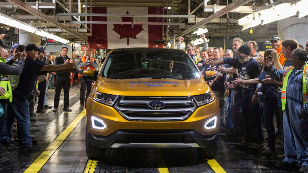 Canadian made Ford vehicle