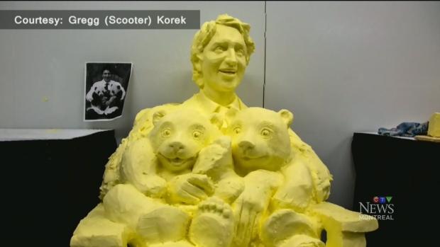 Trending: Trudeau in butter