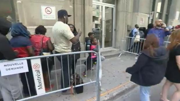 Asylum seekers making applications for welfare | CTV News