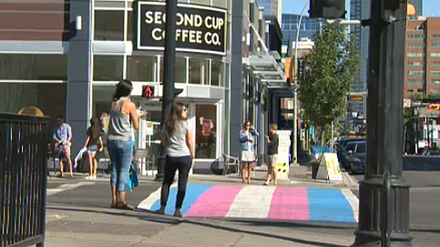 The trans crosswalk