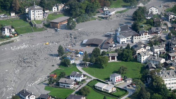 Survival chances 'not high' for 8 hikers missing in Swiss landslide