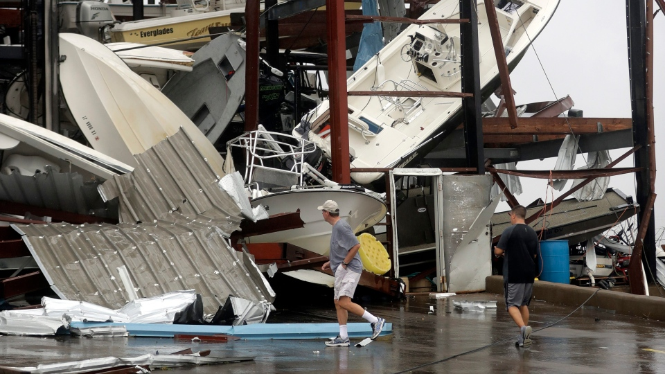 Harvey Spins Deeper Inland But Scope Of Damage Is Unknown