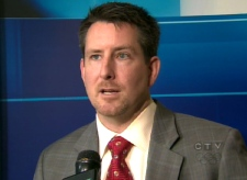 Kevin Gaudet, Ontario director of the Canadian Taxpayers Federation, speaks with CTV Toronto on Wednesday, April 15, 2009.