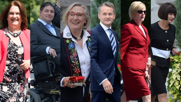 Cabinet Shuffle Cabinet Ministers