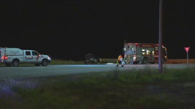Trans-Canada Highway crash