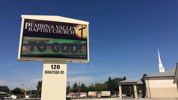 Girl, 15, stabbed multiple times at Manitoba church on Sunday afternoon